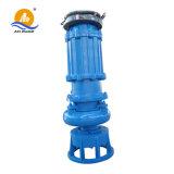 Bomba de dragagem da areia submergível portátil resistente aos ácidos da baixa pressão do volume alto 380V