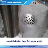 Automatisches Wasser, das füllende mit einer Kappe bedeckende Maschine ausspült