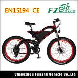 Bicyclette électrique 48V 500W de montagne du gros pneu 26*4.0