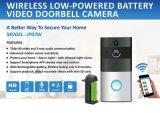 Sonnette visuelle d'intercom de téléphone de porte de télévision en circuit fermé de WiFi sans fil imperméable à l'eau d'appareil-photo