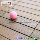 Плитка палубы UV сопротивления водоустойчивая DIY деревянная пластичная составная