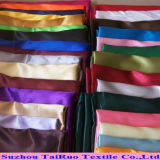 Robe de soirée de femmes de tissu de satin de vêtement de mode de dames poly