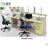 사무용 가구 멜라민 모듈 나무로 되는 테이블 사무실 책상 Yf-G1601