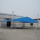 Алюминиевая опорная крыши шаровой кран с полукруглой опорную систему для CS30