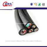 熱い販売オイル抵抗のケイ素ゴム製ケーブルの抵抗力がある熱ワイヤー銅のネオプレンケーブルのゴムケーブル
