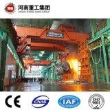 FEM/ISO 표준 YZ 유형 강철 공장을%s 75/20~160/40t 4 광속 주물 또는 주조 머리 위 여행하거나 브리지 기중기