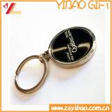 カスタムHightの品質のエポキシの鋼鉄丈夫な金属の釘は切るKeychain /Keyring /Keyholder (YB-KH-446)を