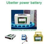 12V Batería de ión litio de alta capacidad de suministro de energía exterior Pack