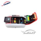De volledige Machine van de Druk van de Kaart van pvc van de Thermische Printer van de Kleur Dubbele Zij Facultatieve Directe