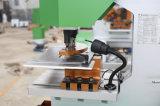 Trabalhador de ferro hidráulico de Furação e máquina de cisalhamento Q35y-40
