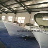 Liya 5.8m 7,6 m Panga Boat Builders les coques de bateau en fibre de verre à la vente
