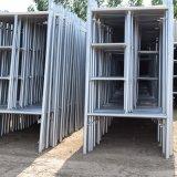 La costruzione standard americana ha utilizzato l'armatura galvanizzata del blocco per grafici della scaletta