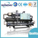 Einzelner Kompressor-wassergekühlter Schrauben-Kühler-abkühlende Maschine