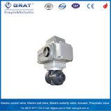 Dn32 actuador eléctrico válvula de bola PVC con el nivel de protección IP 67