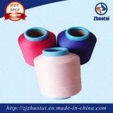 40150 Acy cubiertas de aire Spandex cubierto de poliéster para tejer tejidos Denim