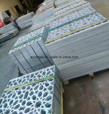 Decorazione intagliata alluminio della parete divisoria di Exteror del metallo dell'incisione del comitato di disegno dell'OEM