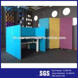 Лучшее качество полиэфирные волокна декоративная акустическая панель для офисной мебели