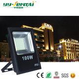 luz de inundación impermeable al aire libre de 100W IP65 LED