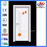 Пластмасса складывая внутренне дверь твердой древесины качания