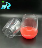 vidro de vinho ambarino do projeto de 12oz Tritan