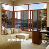 에너지 시리즈 능률적인 알루미늄에 의하여 이중 유리로 끼워지는 여닫이 창 Windows