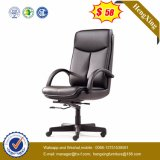 Lederner Büro-Möbel-Chrom-Metallleitende Stellung-Stuhl (HX-LC001B)