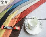 Tissu 100% de toile de polyester pour le sofa et la présidence d'Uphostery