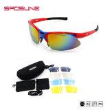 Sposune Norme Ce parcours de golf Anti-Scratch UV400 verres de lunettes de soleil de sport