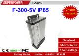 Nueva fuente de alimentación de salida única impermeable de la conmutación de la serie de la C.C. 5V 300W SMPS