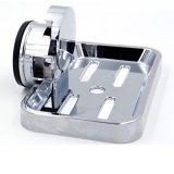 ABS Ventouse Heavy Duty Savon plat éponge titulaire Salle de bains accessoires en chrome