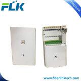 FTTH/FTTX 8 puertos de fibra óptica de caja de distribución de la terminación del divisor