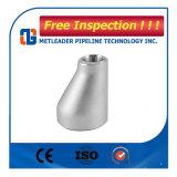 TP304L het Concentrische Reductiemiddel van de Montage van de Pijp van het roestvrij staal