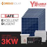 La Cina fuori dalla casa del sistema di energia solare di griglia 5kw 3kw con il prezzo competitivo