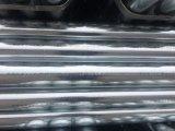 El tubo galvanizado