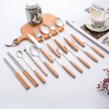 Комплект обеда нержавеющей стали/Cutlery установили 18/10 вилку и ложек нержавеющей стали