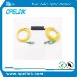 Accoppiatore ottico ottico Fbt della scatola di plastica di Gpon Telemcommication della fibra 3.0mm FC/Upc