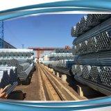 Tubo galvanizado del andamio de la INMERSIÓN caliente BS1139 para la construcción