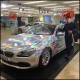 Pigmento holográfico do Glitter do pó de prata do prego de Holo