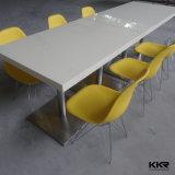 Piano d'appoggio pranzante di superficie solido di 4 Seaters per il ristorante