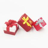 Caja de cartón de papel de sellado de oro del terciopelo (J86-AX)