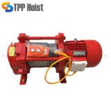 Drahtseil-elektrische Kran-Handkurbel der Aufbau-Hebevorrichtung-1ton