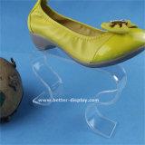 カスタムAcryilicの小売りの靴の棚の表示