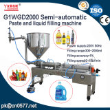 Halbautomatische Paste und Flüssigkeit-Füllmaschine für Penut Butter (G1WGD2000)