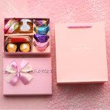 Caja de regalo de bodas de papel personalizado, Caja de embalaje de chocolate y caramelo