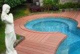 Niedriges Pflege-Baumaterial/im FreienWPC Decking-Fußboden in Nordamerika