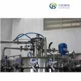 Zhangjiagang automatique de boissons gazeuses Machine de remplissage