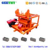 機械価格を作る良質Qmy4-45の小さい移動式セメントの空のブロック