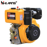 Dieselmotor met de Schacht van de Draad met de Pomp van het Water wordt gekenmerkt (HR186FA die)
