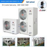최고 균열 Condensor는 겨울 지면 집 Heating12kw/19kw/35kw 높은 순경을 자동 녹인다 Evi 공기 근원 열 펌프 검토를 디자인한다 25c
