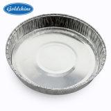 食糧ベーキングのための円形のアルミホイルBBQのグリルの皿